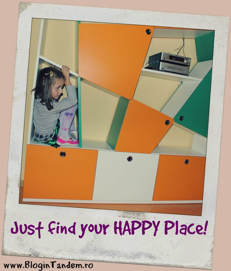 Just find your happy place!