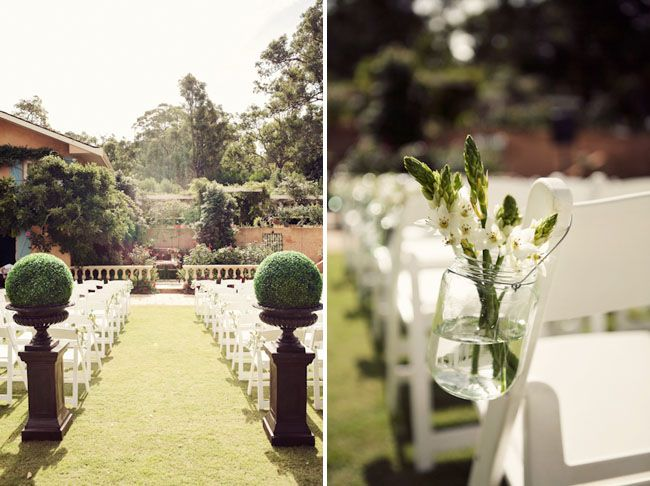 Awesome For more outdoor ceremony ideas be creative when it es to landscaping and greenery