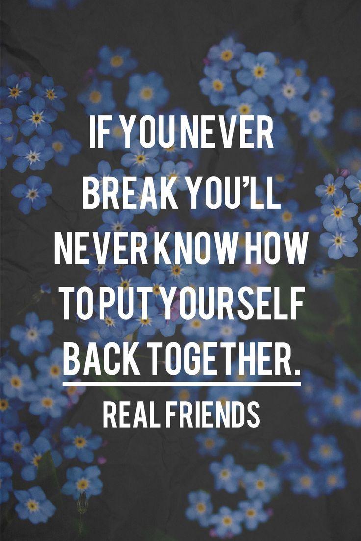 real friends lyrics   Tumblr