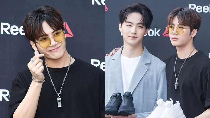 GOT7`s Jackson and Jaebum Attend Event to Promote a Shoe Brand