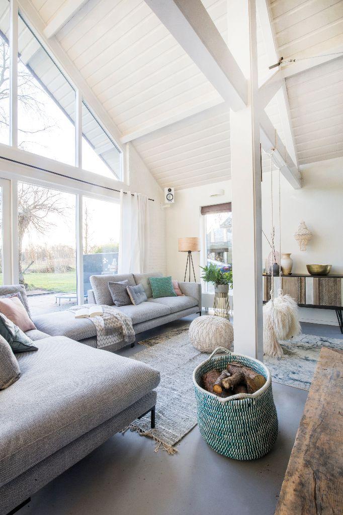 Trendhopper ○ Wohnzimmer im skandinavischen Stil. #bank