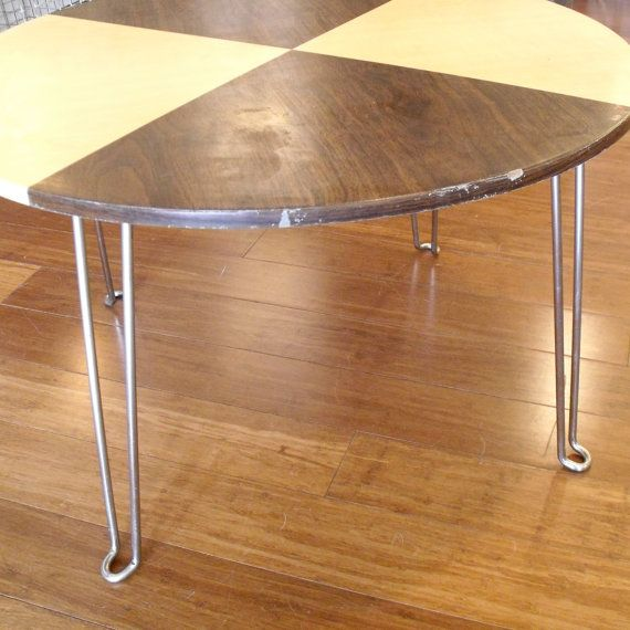 Vintage Retro Table : Folding Coffee Table with di solsticehome