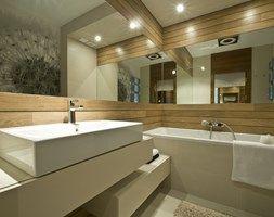 Dom prywatny w Redłowie 2010 - Średnia łazienka, styl nowoczesny - zdjęcie od formativ. kasia i michał dudko