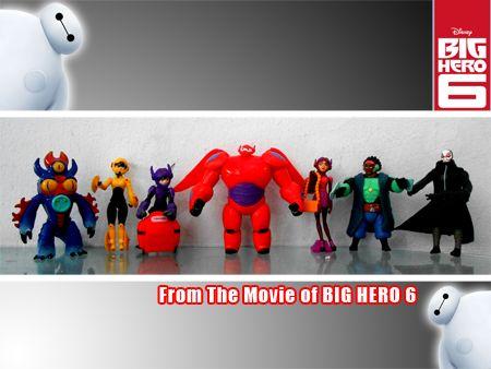 Action Figure Big Hero Six baymax big hero 6