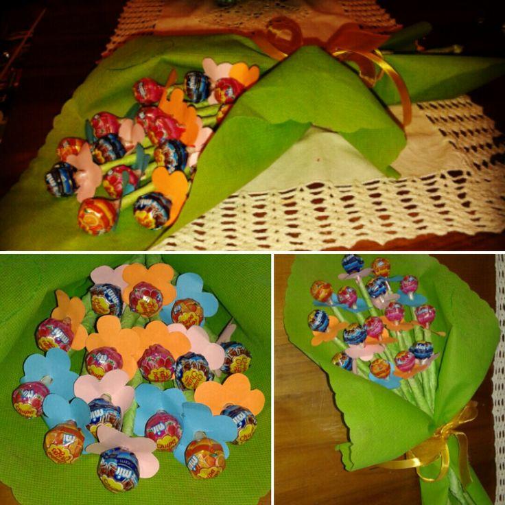 Lollypop bouquet