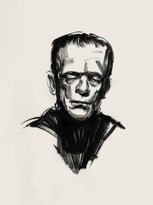 Greg Ruth is having an amazing art sale. One if the FRankenstein...
