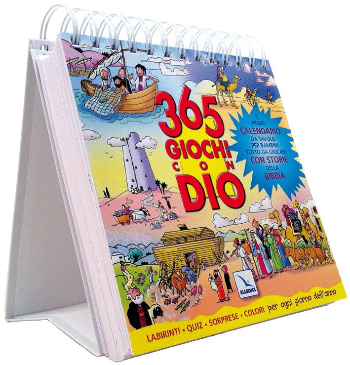 Per ogni giorno dell'anno presenta una scena biblica e un'attività: colorare, o unire i puntini, trovare le differenze, percorrere un labirinto. . . Inoltre, invita i bambini a leggere sulla Bibbia l'...