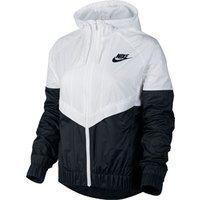Nike W Chaqueta cortavientos blanco gris 726138-101 Nike W Chaqueta ...