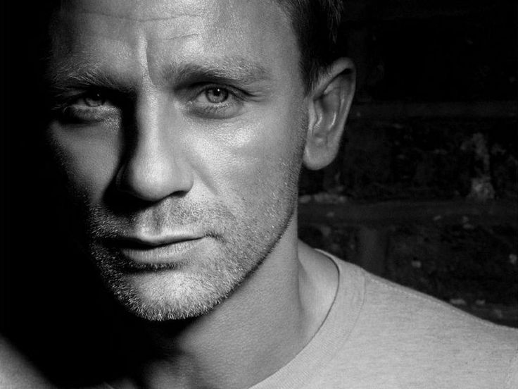 Daniel Craig. Yeah, little bit in love with him after Skyfall. Not gonna lie.