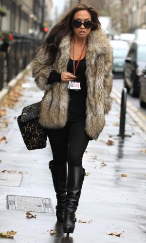 Myleene Klass Out In London, 2012