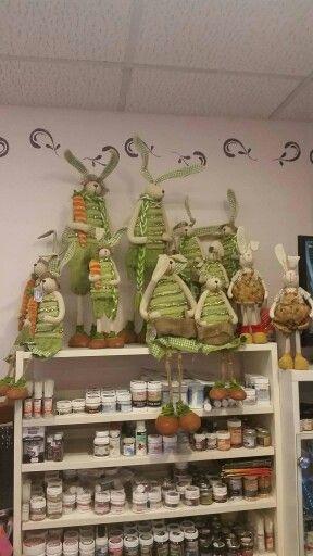 Húsvét dekoràció kreatív hobby diy lakásdekoráció tavasz otthon nyuszi ajándék locsoló