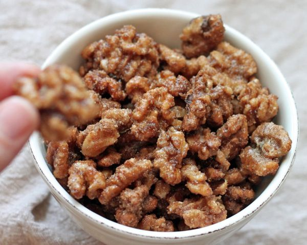 sugar and spice walnuts | Sweets! | Pinterest | Almonds, The o'jays ...