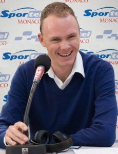 Chris Froome - British professional road racing cyclist