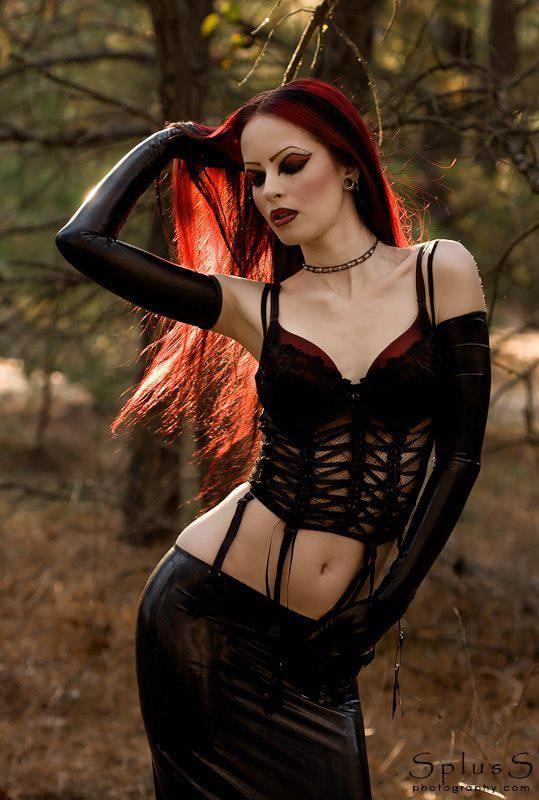 hot emo punk corset the signal