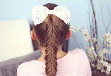 Styles de cheveux pour l'école 10 Coiffures rapides et faciles pour les filles de l'école #easy #gir ... - #girls #hairstyles #quick