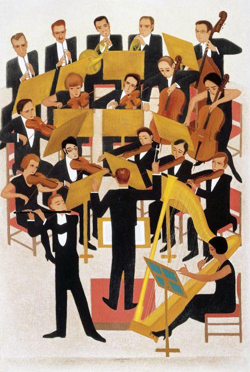 'Het orkest' (1928)