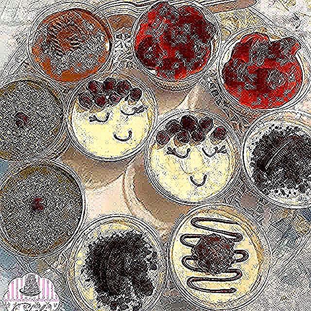 New The 10 Best Dessert Ideas Today With Pictures مجموعة الميني تشيز كيك سعر الدرزن ب دينار للطلب قبل يوم على الدايركت أو الوا Food Breakfast Muffin