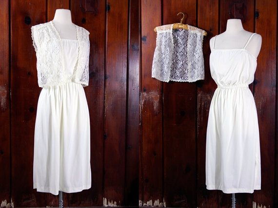 70s boho wedding dress // nontraditional