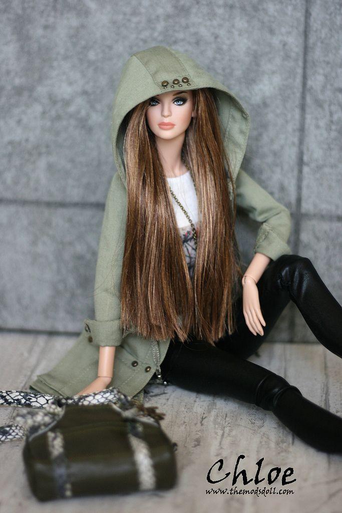 The girl that looks like barbie