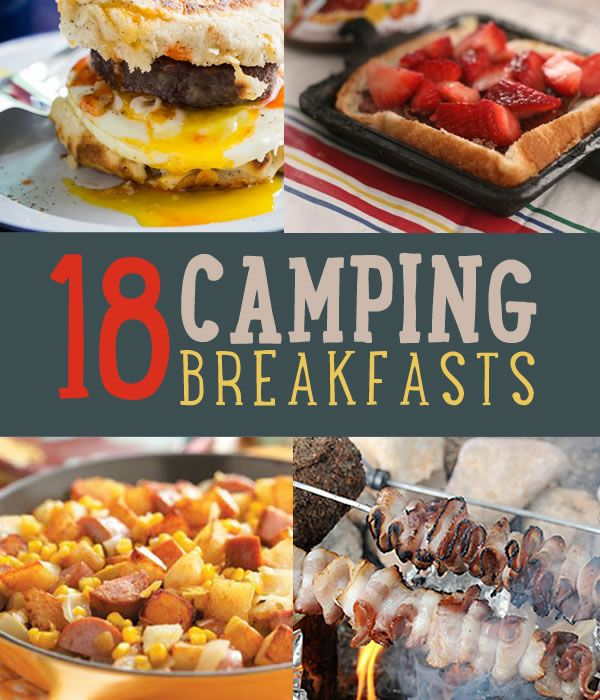 18 Mouthwatering Breakfast Recipes to Try On Your Next Camping Trip | #diyready diyready.com