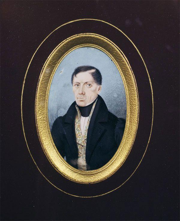 ANTONÍN LANGWEIL (1791 Postoloprty – 1837 Praha) Selfportrait, 1935