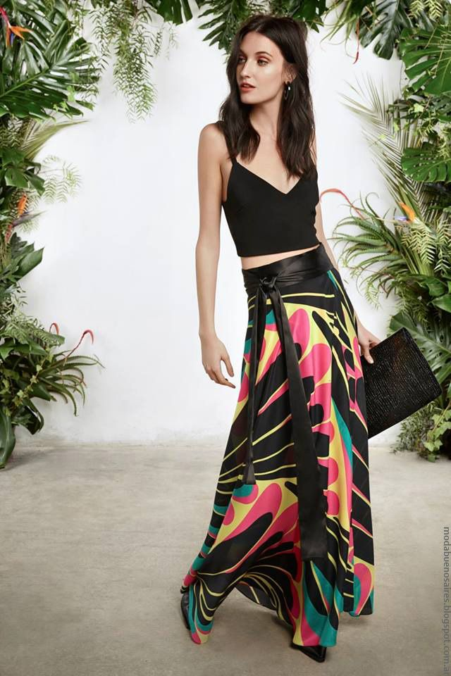 Faldas primavera verano 2017 moda mujer María Cher.