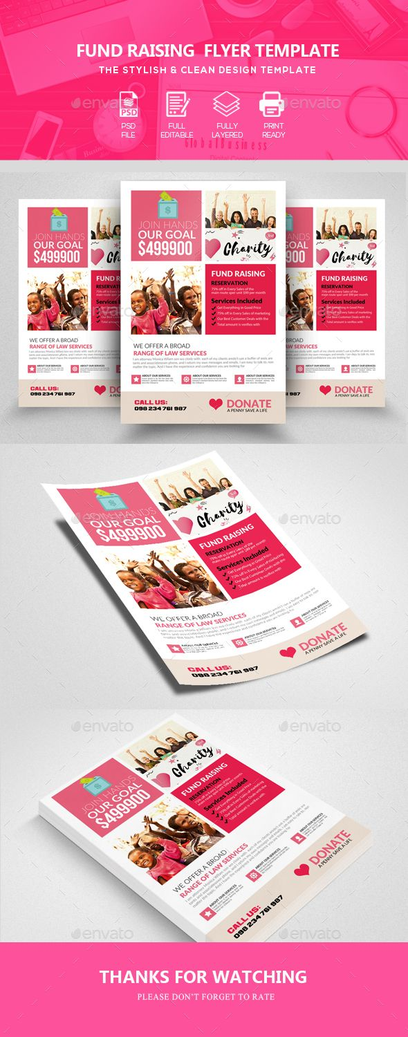Charity Fundraisers #Flyer - Corporate Flyers