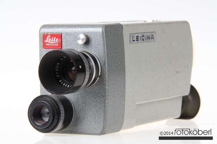 Doppel-8 Filmkamera von Leica. Die Kamera wurde nicht überprüft!  Baujahr: ab 1966 Doppel-8 Schmalflme Verschlusszeiten elektronisch gesteuert Gewicht rund 990 Gramm Leitz 15mm Objektiv Leitz Dygon 9mm f/2,0 Leitz...