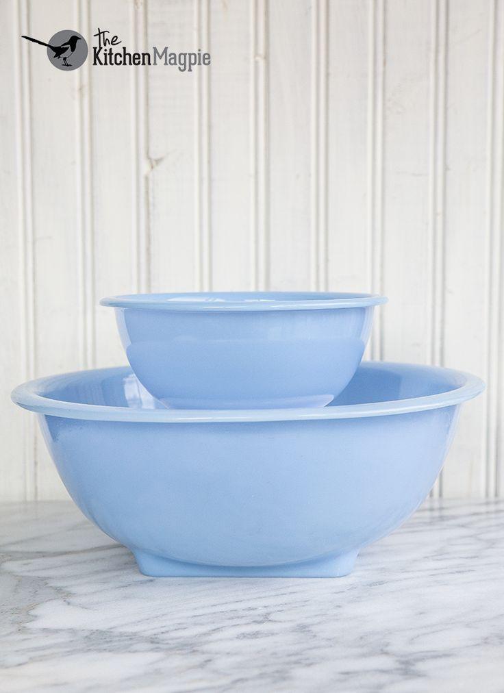 Canadian Pyrex Delphite Rolled Rim Bowls Set The Kitchen