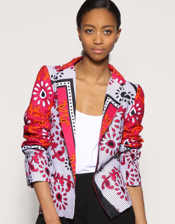 Modern African Fashion, and modern western fashion inspired by Africa