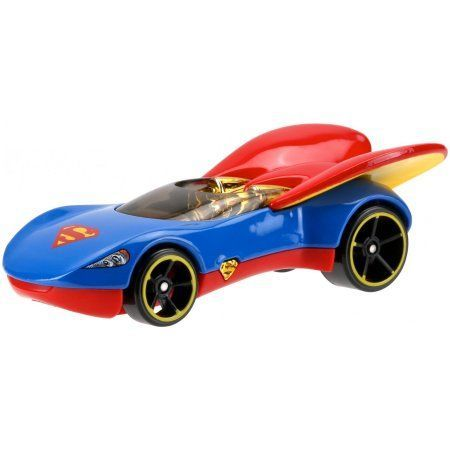 DC Super Hero Girls Hot Wheels Supergirl Character Car