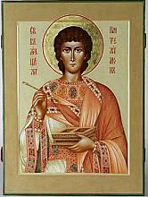 St Pantaleon icon, by Veronika Demurova