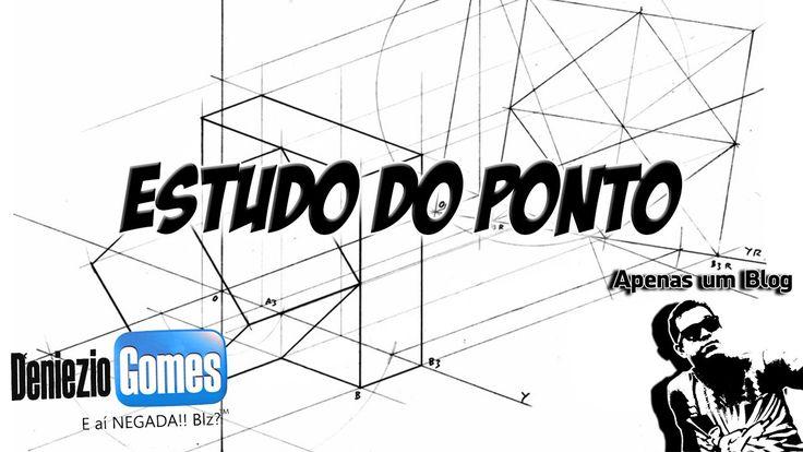 Terceira aula sobre Estudo do Ponto em Geometria Descritiva  #GD #DeniezioGomez #Youtube