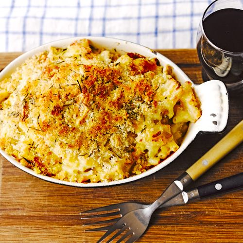 Macaroni met restjes kaas recept - Jamie magazine