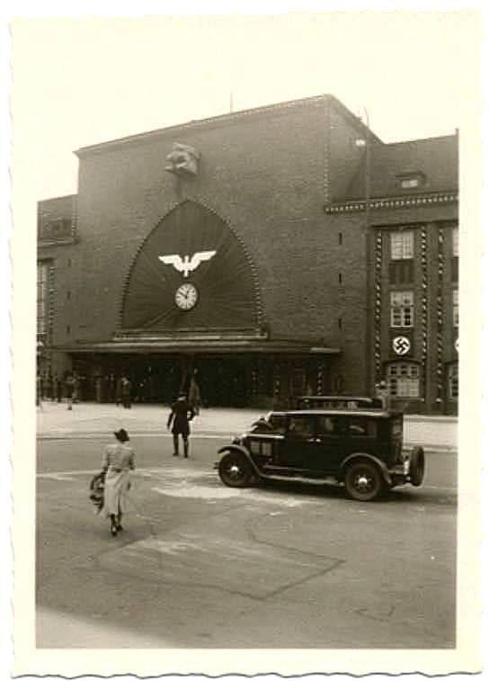 Южный вокзал 38-й год