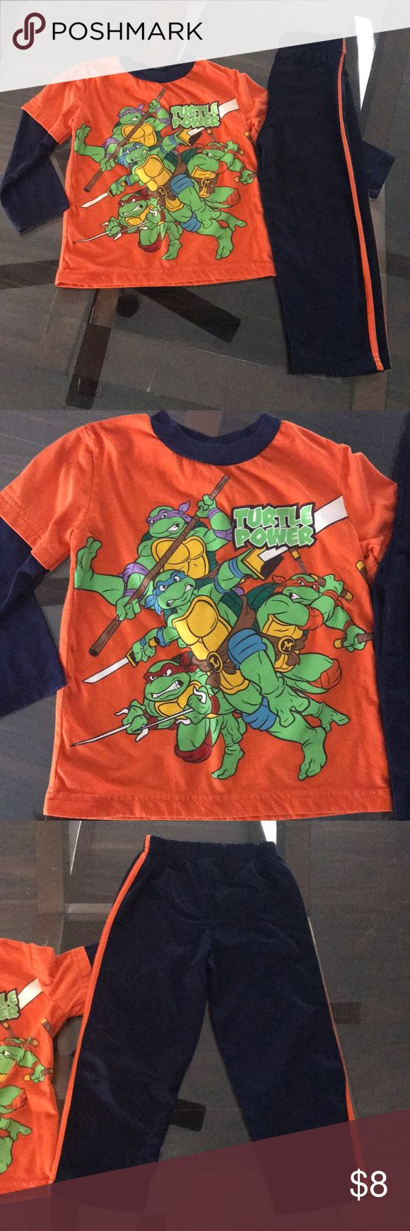 Ninja Turtle Outfit GUC, no holes or stains, accepting offers Nickelodeon Matching Sets