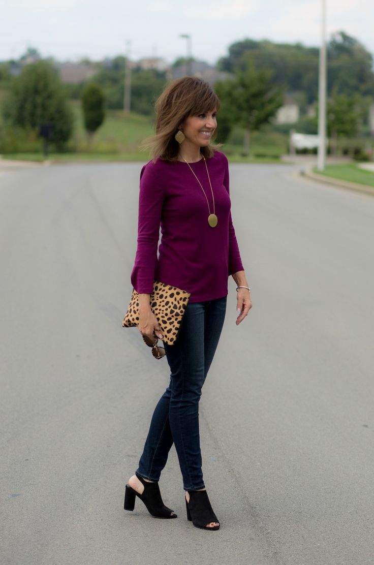 f60c233a51f 26 Days of Fall Fashion  Old Navy Bell Sleeve Top Styled Two Ways ...