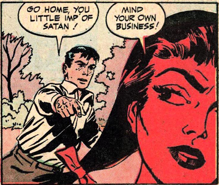 Imp of Satan! ('Eerie' #14, 1954)