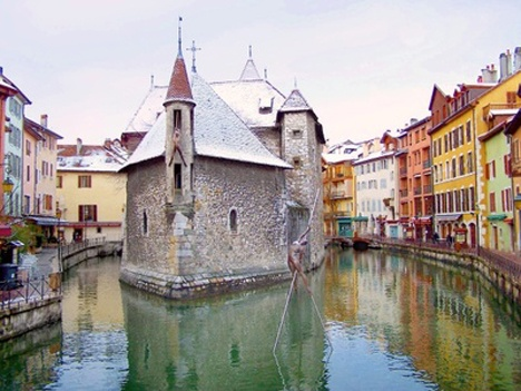 Annecy is easily one of the most attractive towns in France.