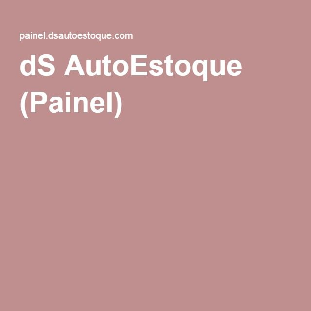 dS AutoEstoque (Painel)