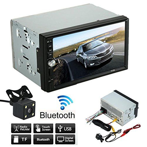 Nolia 7 inch Double 2 Din Car Stereo MP5 MP3 Player Radio Bluetooth USB AUX + Parking Camera - http://www.caraccessoriesonlinemarket.com/nolia-7-inch-double-2-din-car-stereo-mp5-mp3-player-radio-bluetooth-usb-aux-parking-camera/  #Bluetooth, #Camera, #Double, #Inch, #Nolia, #Parking, #Player, #Radio, #Stereo #Car-Stereos, #Electronics