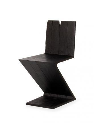 Where There's Smoke Zig Zag chair (Rietveld), 2004