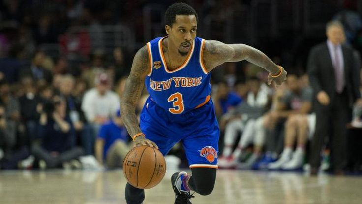 New York Knicks guard Brandon Jennings (3) in action against the Philadelphia 76ers at Wells Fargo Center. (Bill Streicher)