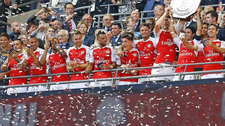 Arsenal win FA Community Shield   Oxlade-Chamberlain drills in superb winner   First win for Wenger against Mourinho   Cech impresses on debut against former club