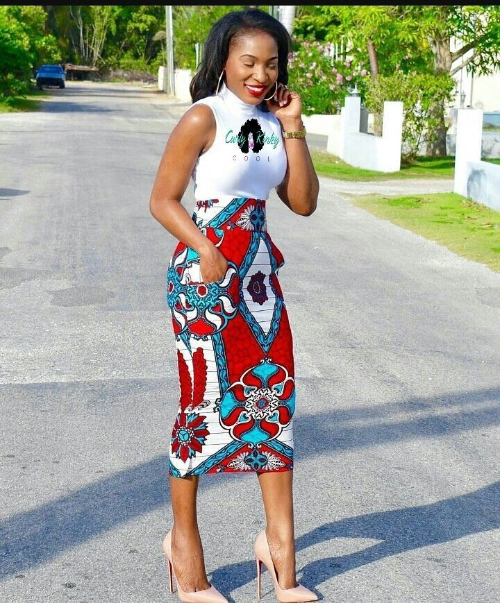 Jupe Pagne : (notitle | Jupe droite en pagne, Mode africaine robe, Jupe africaine