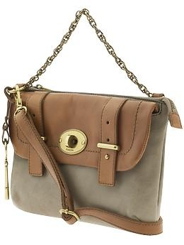 Mason Top Zip bag from Fossil.
