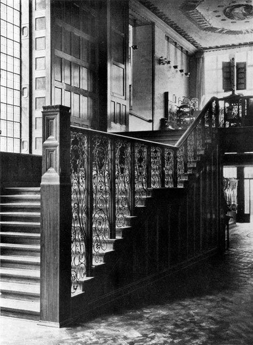 1907 Berlin - KaDeWe, Eingangshalle