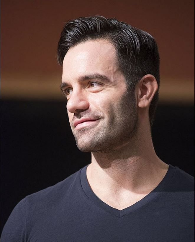 Ramin Karimloo!  Photo by Monica Simoes at @playbill at today's press event for Prince of Broadway The Musical.