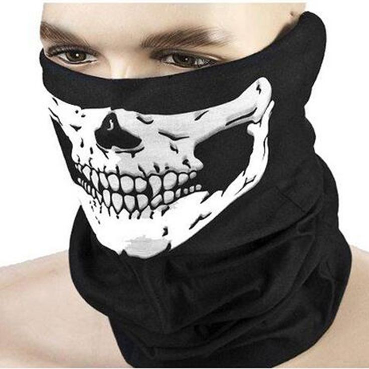 Hot Sale Men Women Cool Skull Design Adults Multi Function Ski Sport Motorcycle Biker Scarf Half Face Mask Sport Headband #>=#>=#>=#>=#> Click on the pin to check out discount price, color, size, shipping, etc. Save and like it!