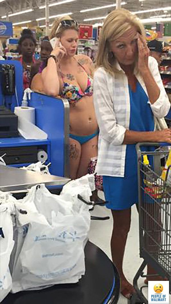 Largest Collection Of Freaks Anywhere- Welcome To Wal-Mart (Photos and Video)